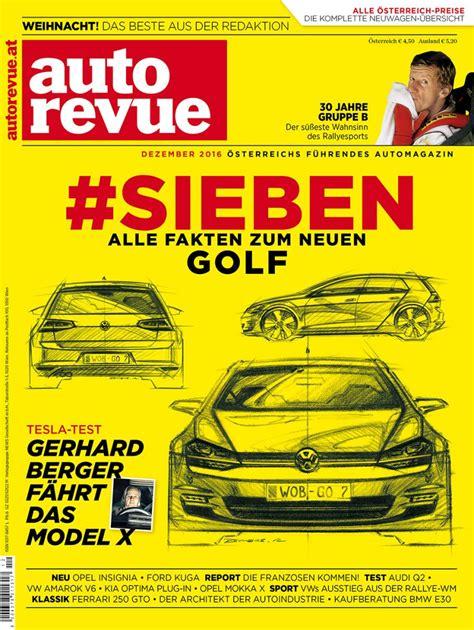 Auto Revue by ᐅ Autorevue Das Magazin F 252 R Fahrfreude