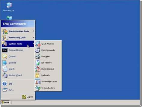 erd iso erd commander recovery software bootable iso