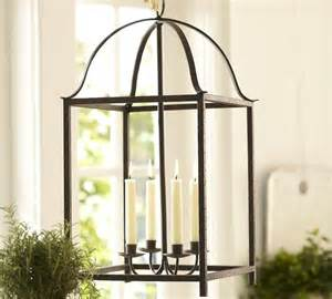Battery Operated Candle Sconces Blacksmith Taper Lantern Pottery Barn Traditional