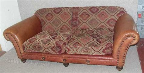 tetrad leather sofa antiques atlas brown leather 3 seater tetrad sofa with