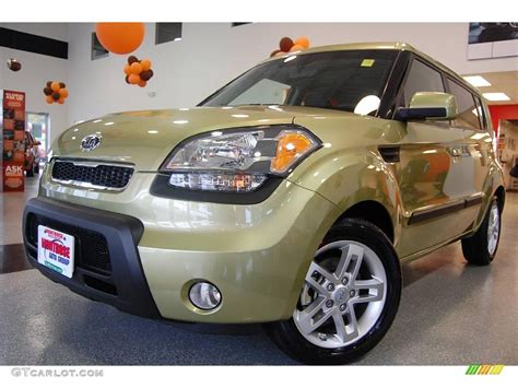 Kia Soul Paint 2010 Green Kia Soul 19881193 Gtcarlot Car