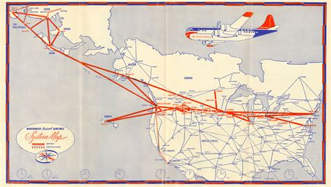 images  airline route maps  pinterest maps hawaiian airlines  vintage airline