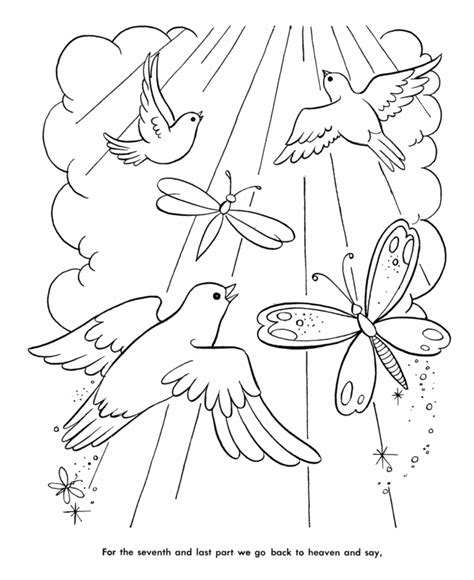 heaven coloring pages coloring home