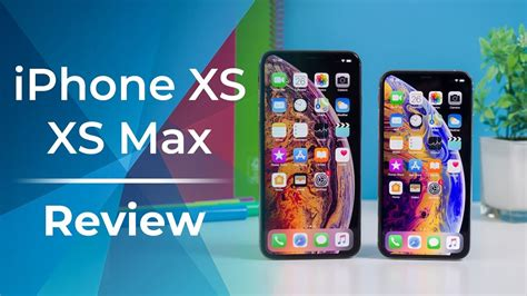 apple iphone xs  xs max review youtube