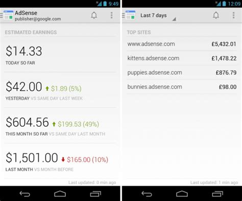 adsense contact google launches official adsense app for android droid life