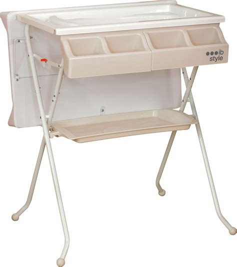 2 In 1 Changing Table And Bath Foldable Baby Nappy Changing Table And Bath