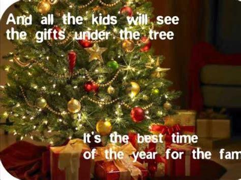 merry christmas happy holidays nsync  lyrics youtube