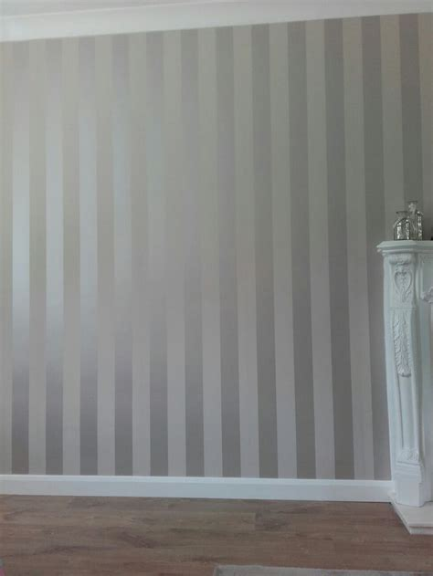 striped wallpaper truffle stripe wallpaper living room