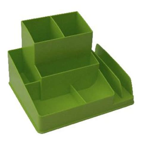Officeworks Desk Accessories Italplast Desk Organiser Lime Officeworks