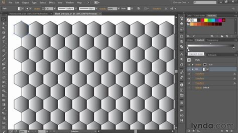 ai weave pattern 262 creating a honeycomb pattern in illustrator from the