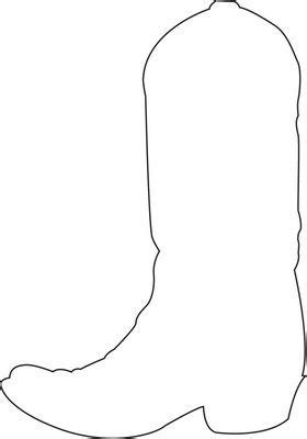 cowboy boot template boot pattern maybe quot design your own cowboy boot