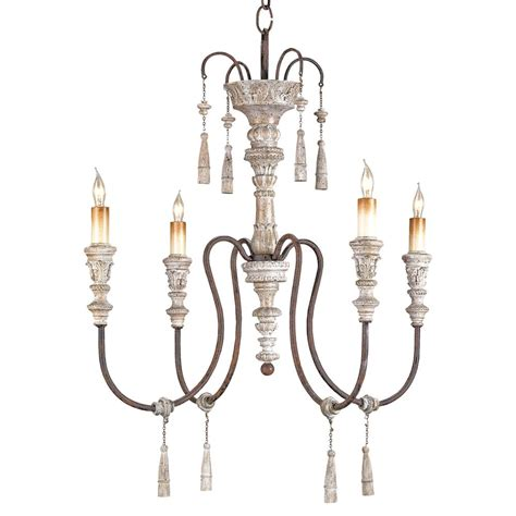 Wood Iron Chandelier Katrine Gustavian Iron And Wood Chandelier 22 Inch Kathy Kuo Home