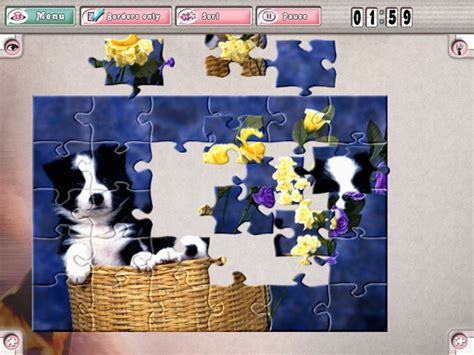 free full version jigsaw puzzle games download pastime puzzles the fifties gamehouse