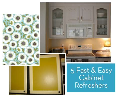 quick and easy way to paint kitchen cabinets how to 5 fast and inexpensive ways to refresh your