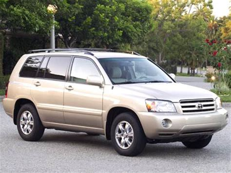 2005 toyota highlander | pricing, ratings & reviews