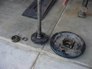Toyota Rear Axle How To Replace The Rear Wheel Bearings On A Toyota Car