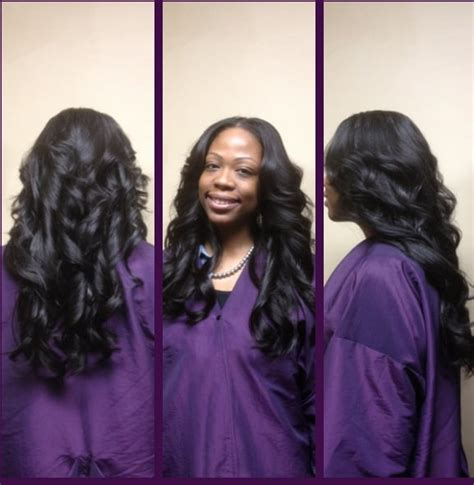 sew in leave out body waves yelp full sew in weave with layers body curls minimal hair