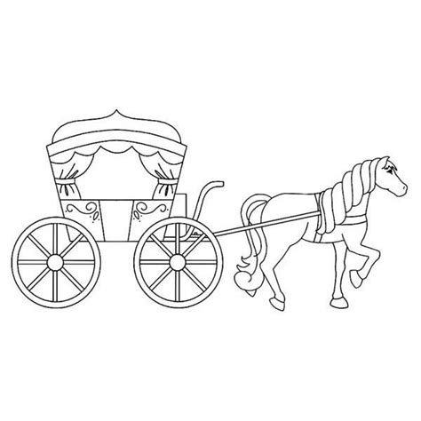 coloring pages horse and carriage horse and carriage coloring coloring pages