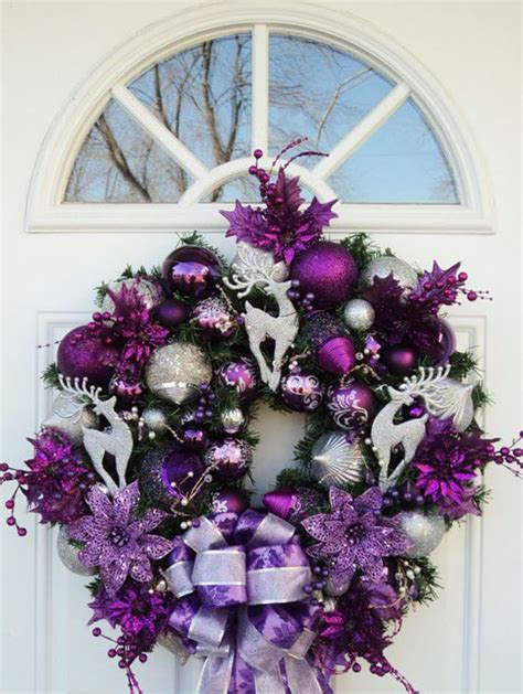 35 breathtaking purple christmas decorations ideas all