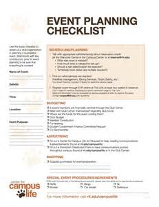 Event Planning In Event Planning Checklist Center For Cus