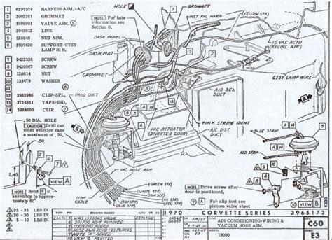 Wiring Diagram For 1958 1959 Chevrolet Corvette 60653