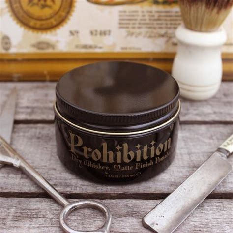 Dave Levin Pomade Matte Strong Hold prohibition matte pomade pomade