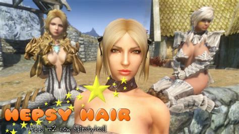 skyrim human hair styles skyrim human hair styles female orc hair for human wip