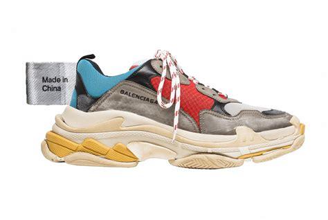 how china react to balenciaga s made in china sneakers jing daily