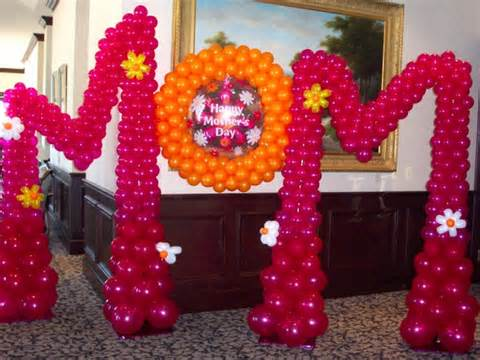 mothers day decoration bijoux balloon certified balloon artist