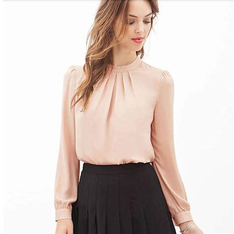 Blouse Kemeja Style B816 Bkk Fashionimport us 5 73 feitong 2016 blusas feminina chiffon blouses blouse shirt casual