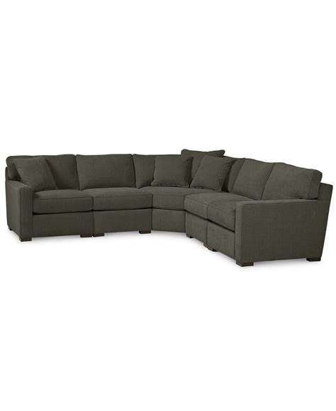 radley 5 piece fabric chaise sectional sofa radley fabric 5 piece sectional sofa shops sectional