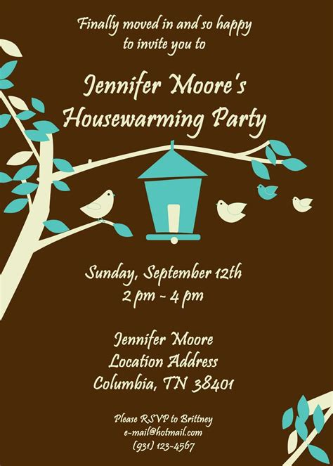house warming invitation template house warming invitation cards festival tech