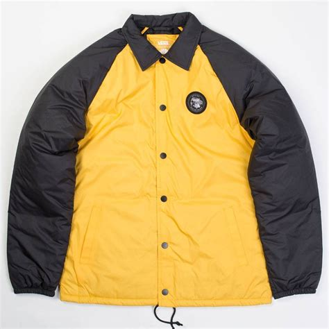 vans bb parka vans x the torrey jacket yellow black