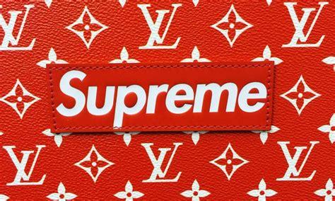 Sticker Supreme X Louisvuitton 2 louis vuitton x supreme collaboration the editor magazine the intercultural fashion magazine
