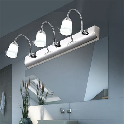 Waterproof Bathroom Lights Mirror Light Led Modern Brief Acrylic Mirror Cabinet L Bathroom L Wall L Ls Cosmetic