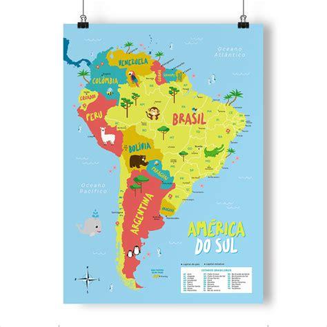 mapa a america do sul mapa a america do sul wall hd 2018