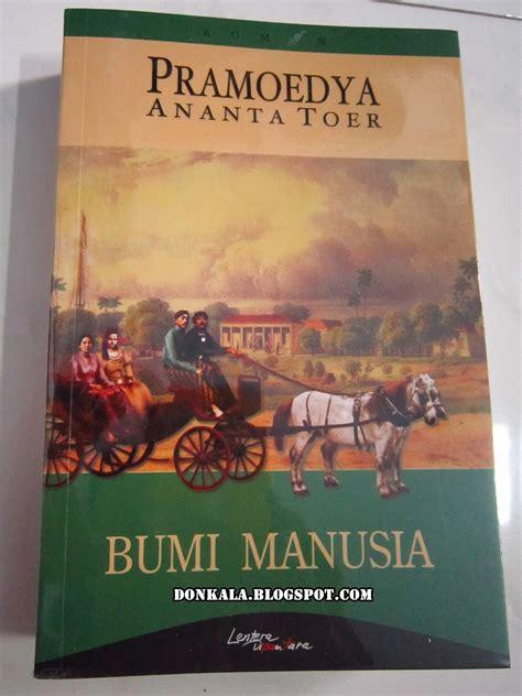 Pramoedya Bumi Manusia pustakadonkala resensi buku book review bumi manusia