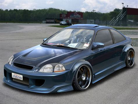 1998 honda civic modified honda civic 1998 hatchback custom www pixshark com