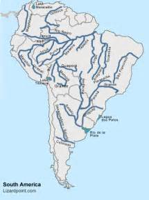south america river map test your geography knowledge south america rivers and