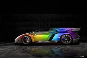 Lamborghini Color Lamborghini Veneno Roadster Gets Imaged In All Colors
