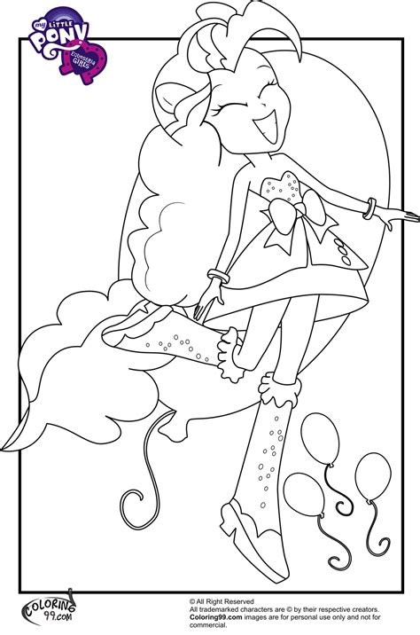 My Little Pony Equestria Girls Coloring Pages Team Colors My Pony Equestria Coloring