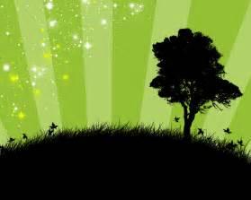 black tree green background hd wallpaper widescreen