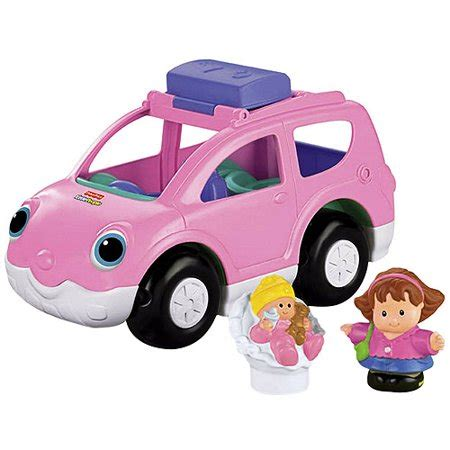 fisher price little people open & close suv: play vehicles