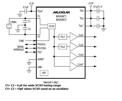 clock generator circuit diagram clock and timing ics