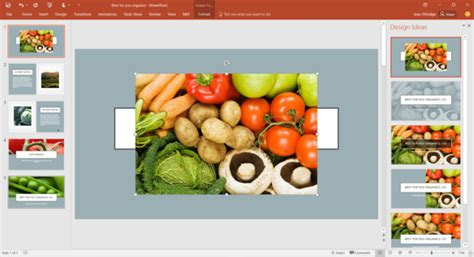 design ideas microsoft powerpoint powerpoint 2016 now helps people design slides that aren t
