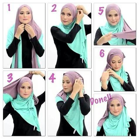 tutorial halfmoon qaira hijab al humairah hijab shawl dresses pinterest