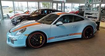 Gulf Porsche We Ll Take This Porsche 911 R In Gulf Blue Thank You