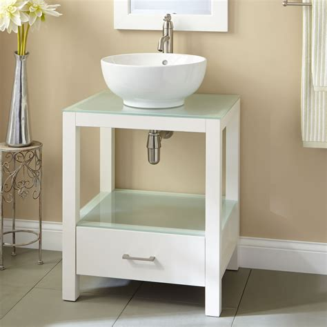 white vessel sink vanity vessel sink vanity with single sink for tiny bathroom