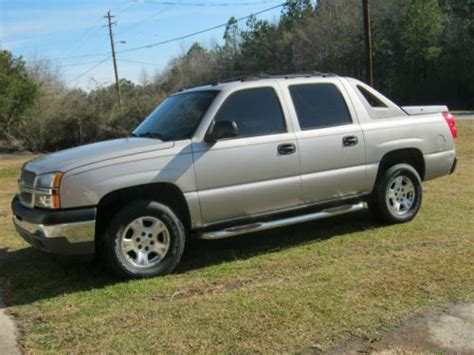 how cars run 2005 chevrolet avalanche 1500 spare parts catalogs find used 2005 chevrolet avalanche 1500 ls crew cab pickup 4 door 5 3l in screven georgia