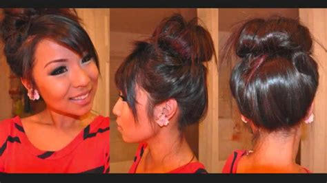 hairstyles with clip on hair extensions messy bun with clip in hair extensions hairstyle tutorial